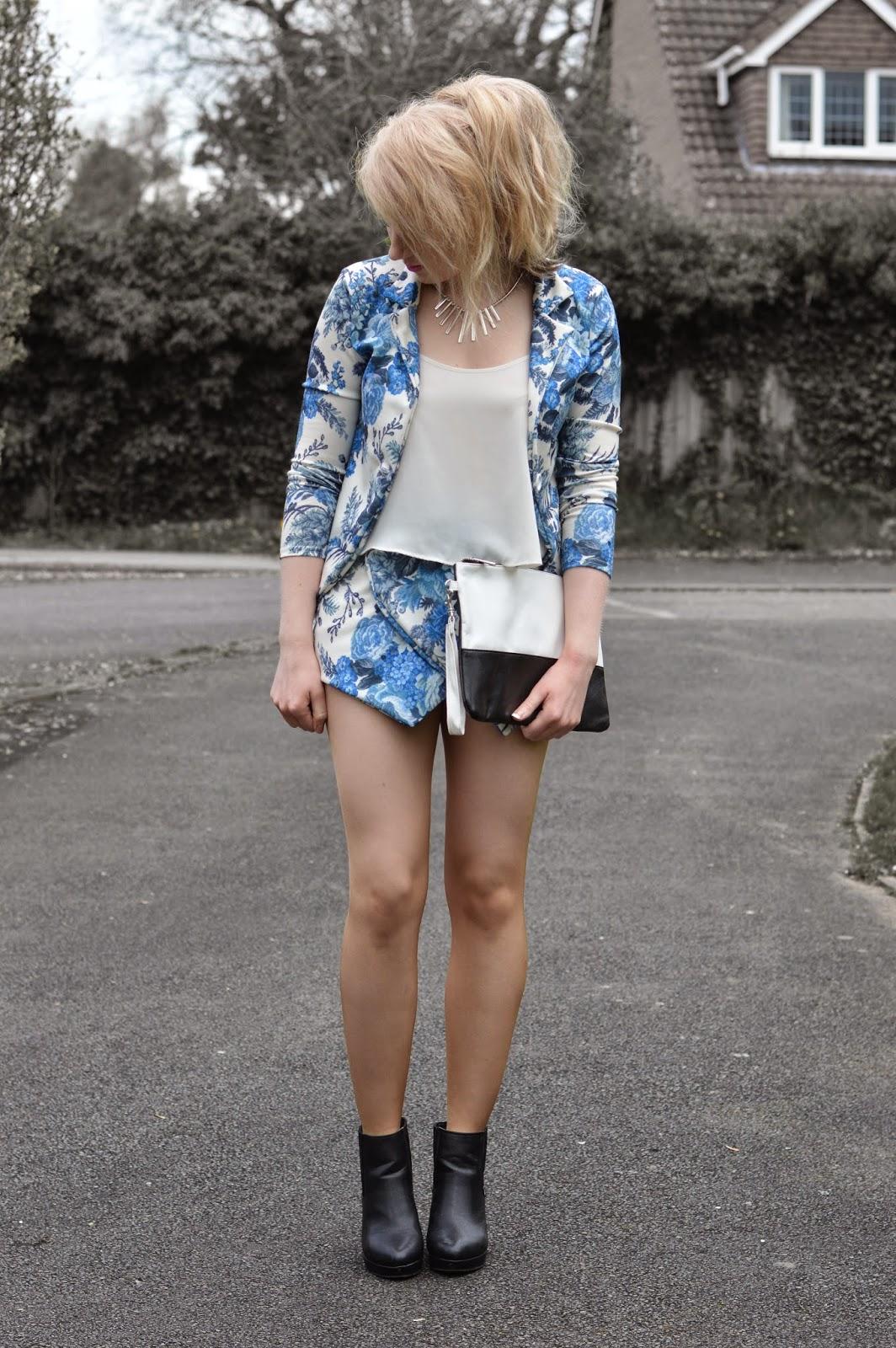Sammi Jackson - Blue Floral Coordinates