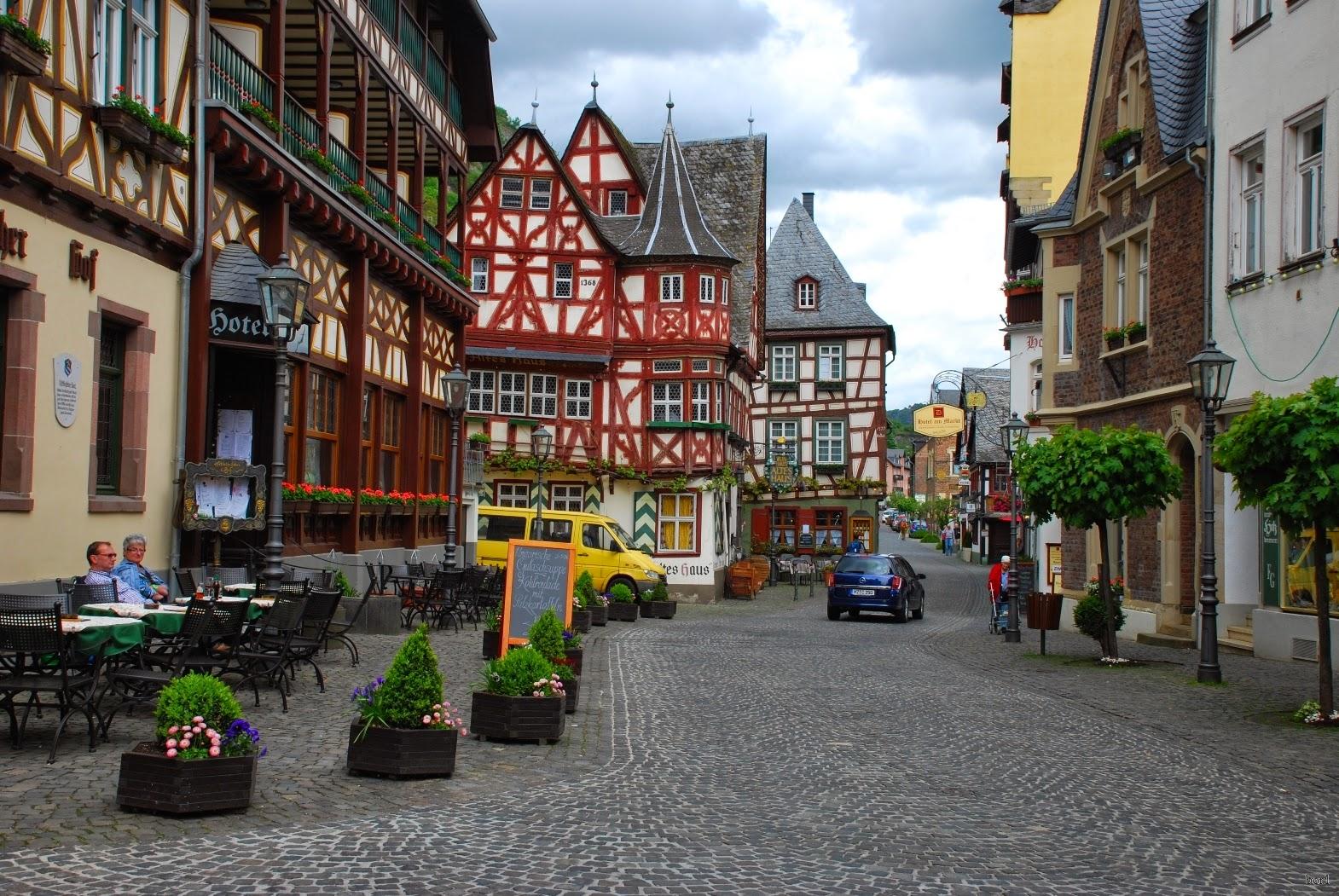 традиционные дома Германии