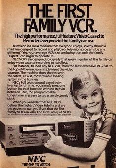 Vintage VCR magazine ad