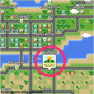 Nông trại vui vẻ trong game avatar