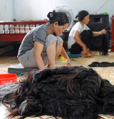 pembekal rambut manusia