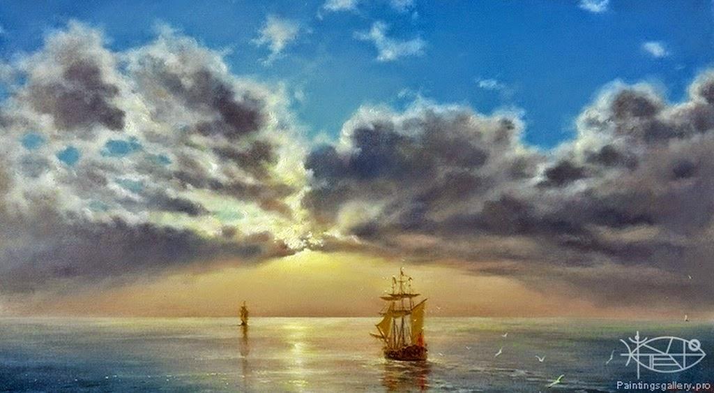 pinturas-de-mar-con-barcos-antiguos