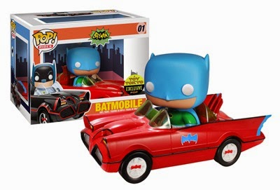 01.- Batmovil Rojo Funko Pop!