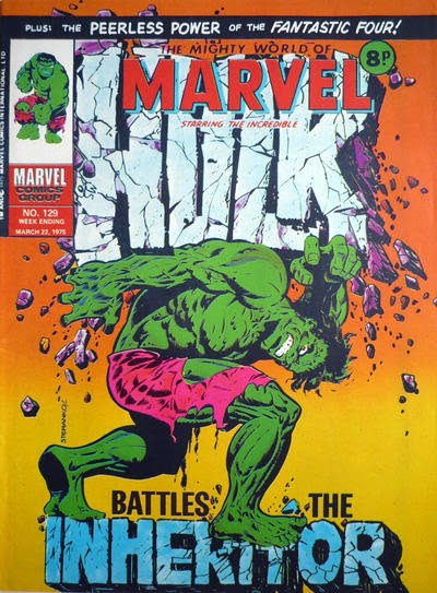 Mighty World of Marvel #129, Hulk vs the Inheritor