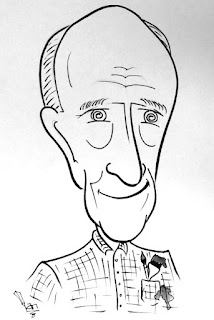 Tony Couch Caricature - Don't Tell Bonnie!