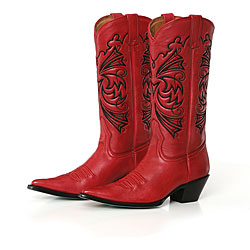 Cowboy Boots Red9