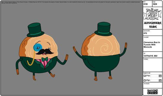 Adventure Time Cinnamon Bun Tuxedo
