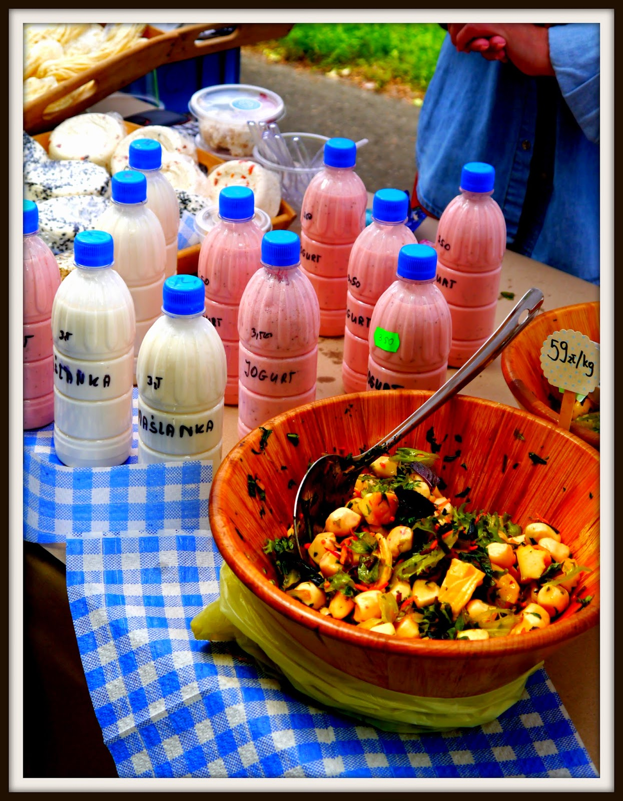 Targ Śniadaniowy, Park Krakowski, jogurt, kefir, maślanka