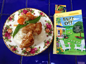 Seasme Chicken and Buzz Off by Hannah Reed