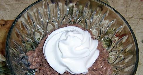 The Chatty Mom: Bailey's Irish Cream & Chocolate Tapioca Pudding