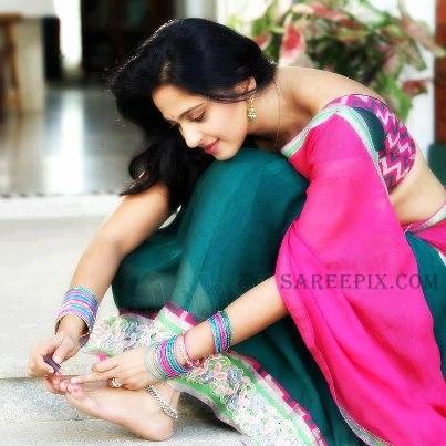 Home Anushka Shetty Saree Telugu Actress