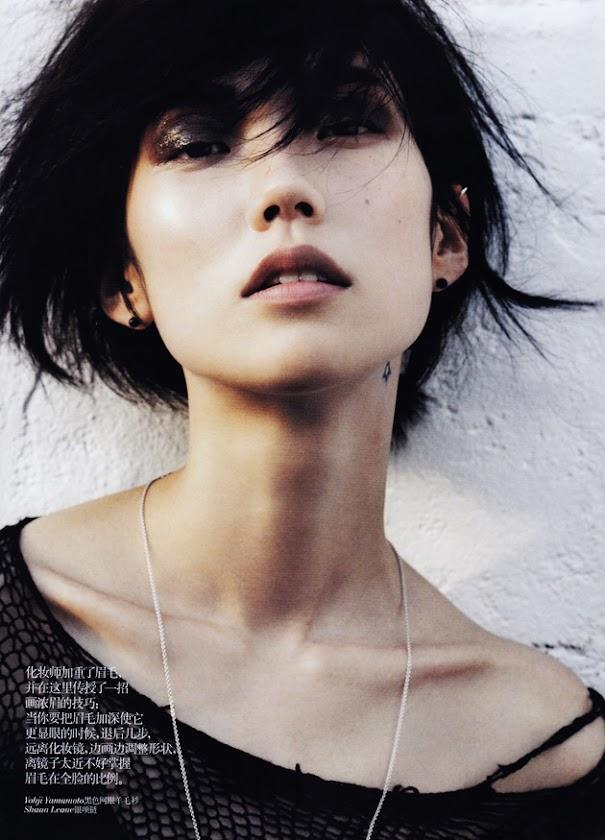 Asian Models Blog Editorial Tao Okamoto In Vogue China