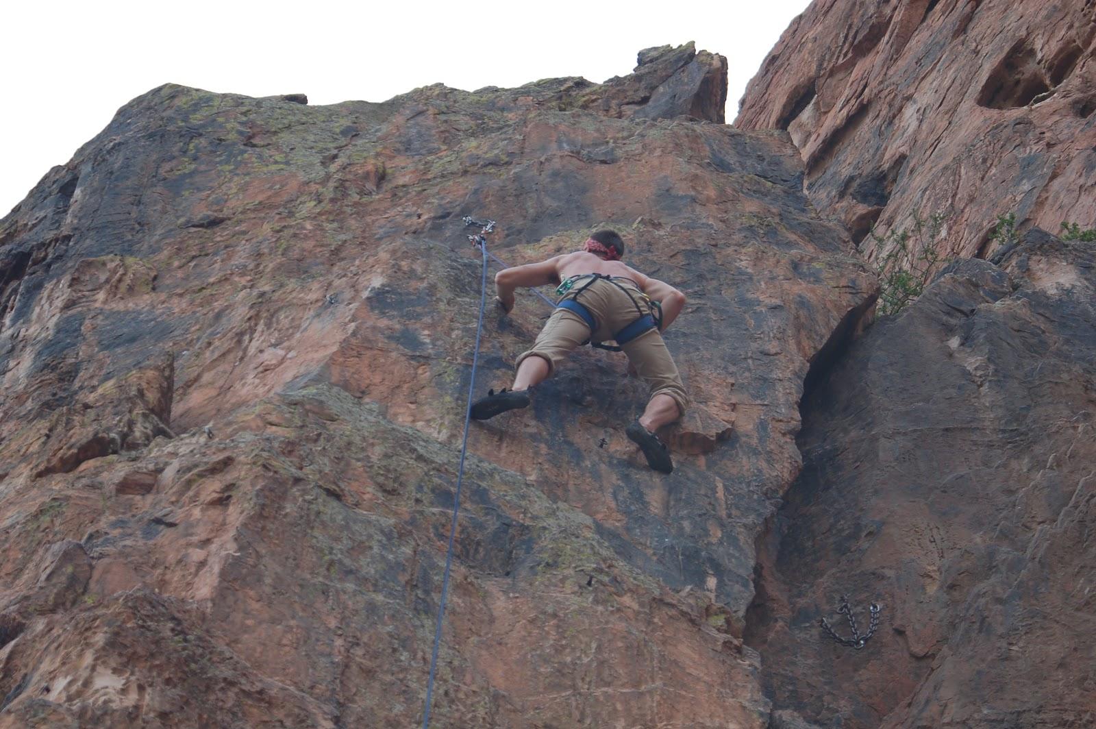 Rope Trip Climbing At The Garden Of The Gods Colorado