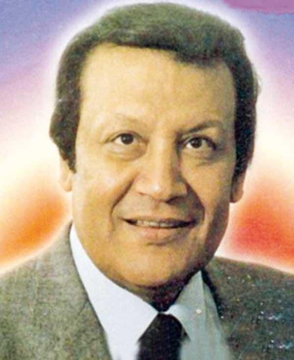 الفنان الراحل محمد رشدى