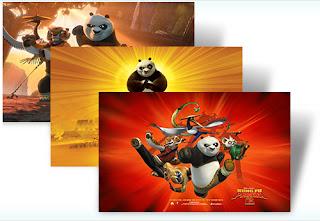 gratis theme kungfu panda