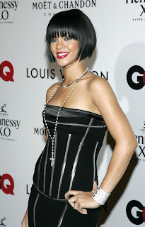 Rihanna bob cut