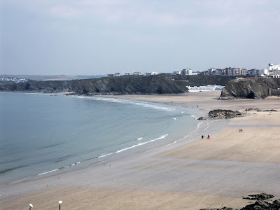 Beaches at Newquay Cornwall