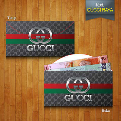 sampul raya design dompet gucci purse