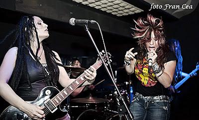 Crónica concierto The Witchburn Burgos noviembre 2011 por Fran Cea