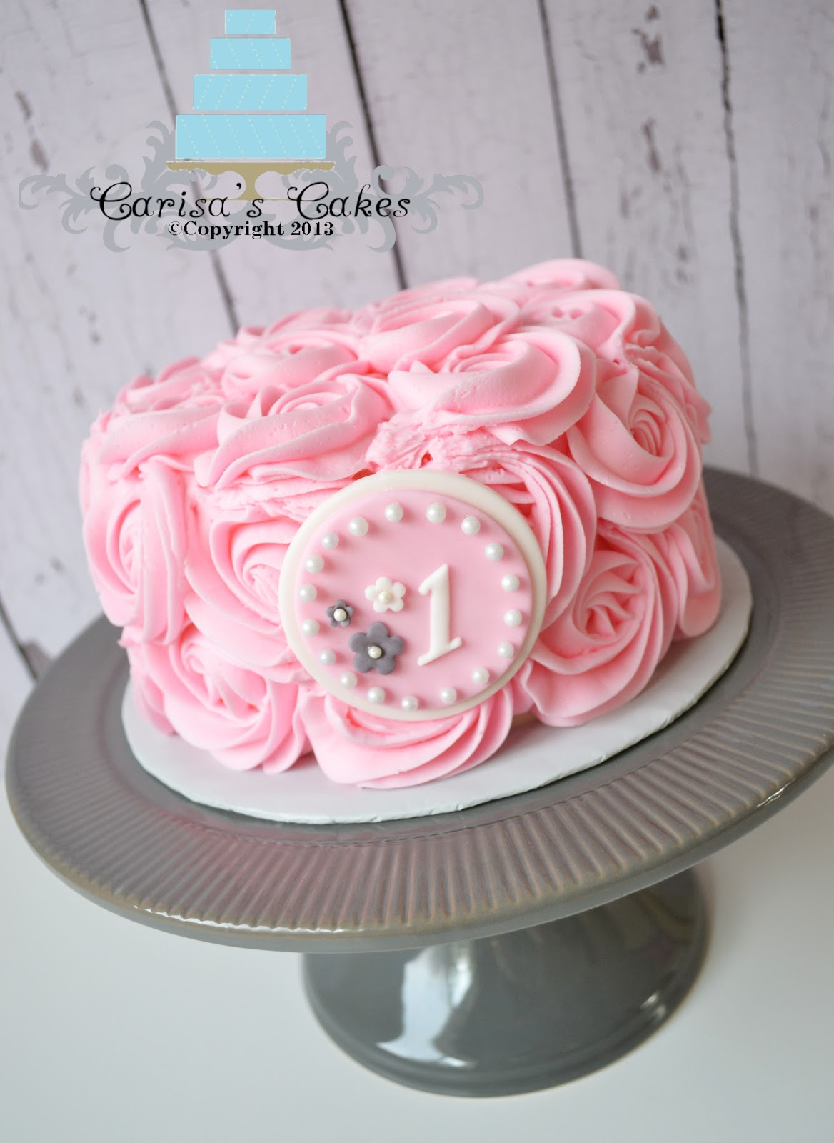 Pink Rose Cake Images : Carisa s Cakes