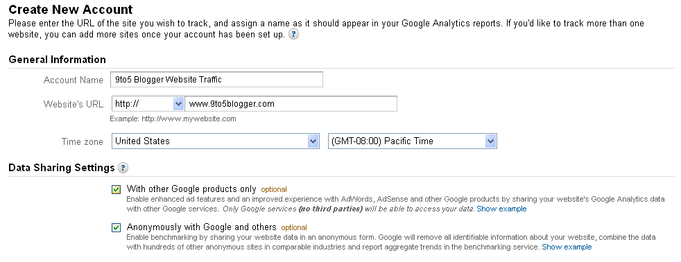 Add Google Analytics to WordPress or BlogSpot Blog