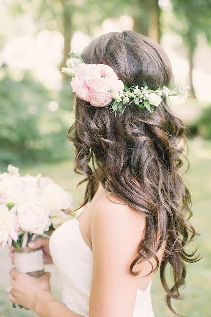 Peinado ondas invitada de boda