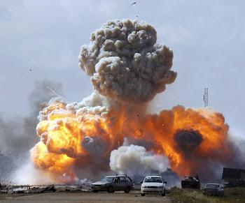 EXPLOSION EN LIBIA