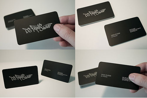 All amazing designs dj business cards dj business cards reheart Image collections