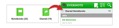 Evernote for Android 3.0