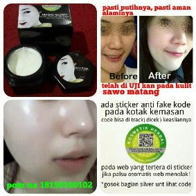 Magic Glossy Extra Whitening  Grosir