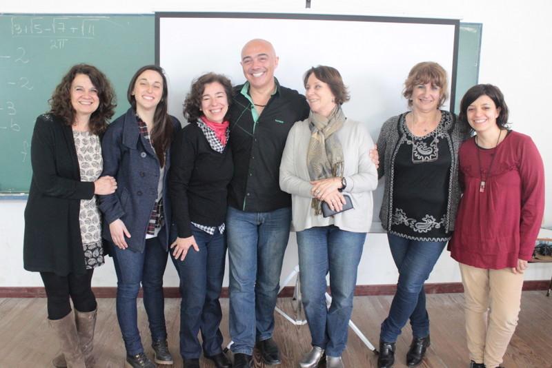 Charla de Marcel con el grupo GIEMI