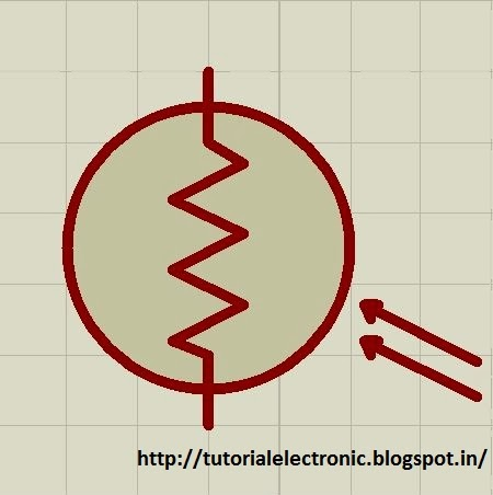 electronics tutorials: LIGHT DEPENDENT RESISTOR (LDR)