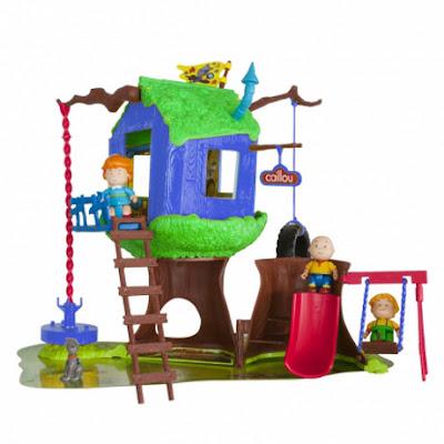 TOYS : JUGUETES - CAILLOU - La Casa del Árbol  Producto Oficial Serie TV 2015   Giochi Preziosi   A partir de 3 años  Comprar en Amazon