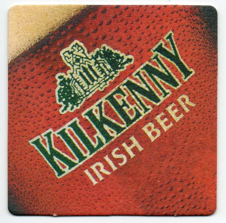 sous-bock de la bière Kilkenny