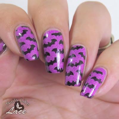 nailslikelace 40 great nail art ideas  halloween