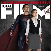 Man of Steel: Promos, imagenes y portada de Total Films