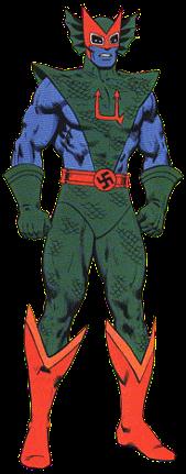Dibujo del Hombre-U-Marvel