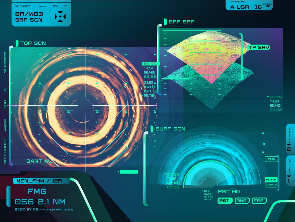 Doctor Ojiplatico.VisualPunker. Futuristic User Interfaces