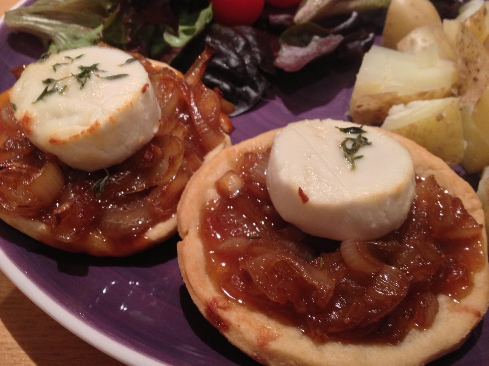 Jess S Messes Gorgeous Goats Cheese Tart Recipe