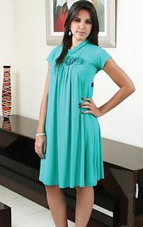fotos de modelos de Vestidos Longuetes