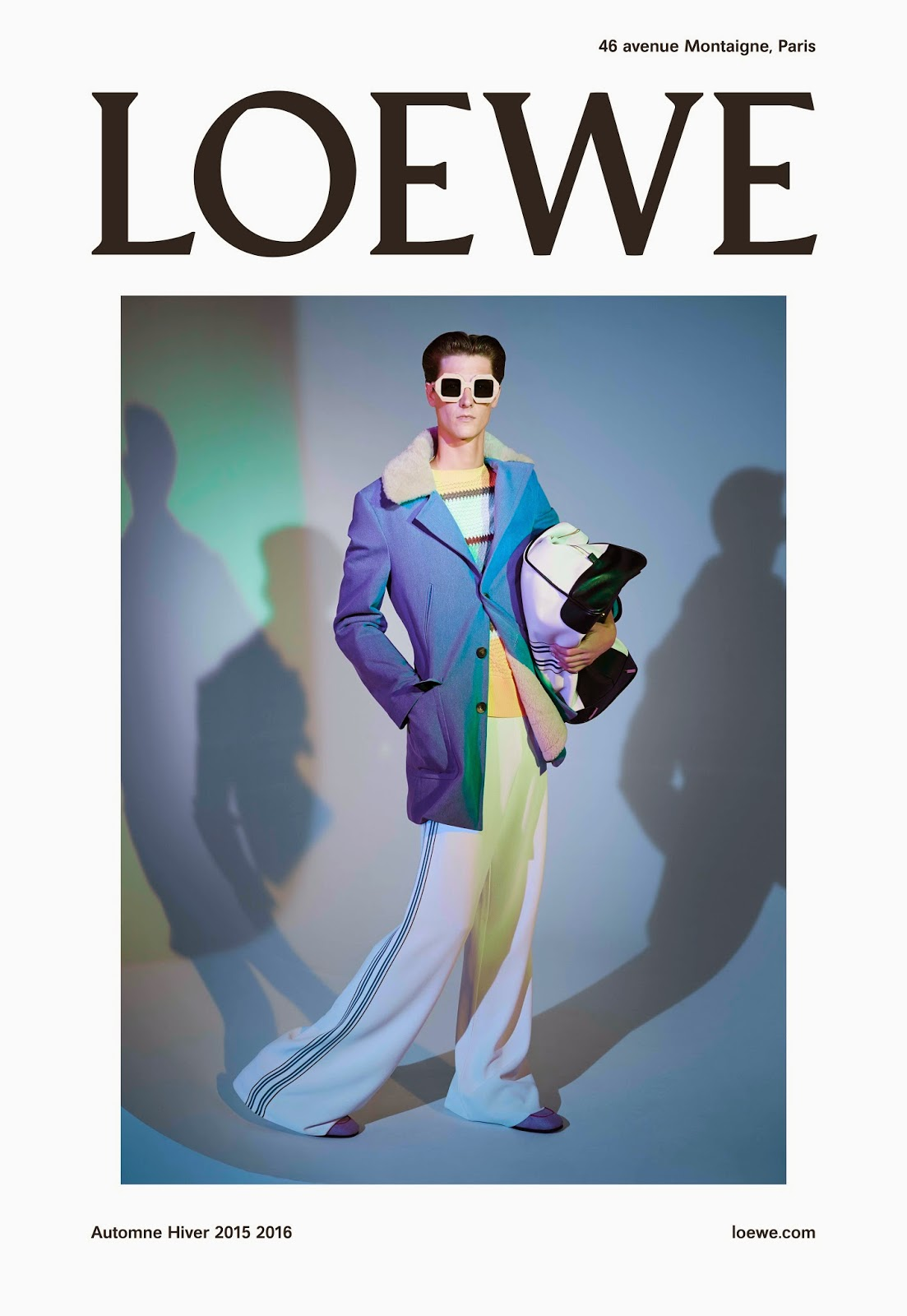 Loewe's Unveils Autumn/Winter 15 Ad Campaign