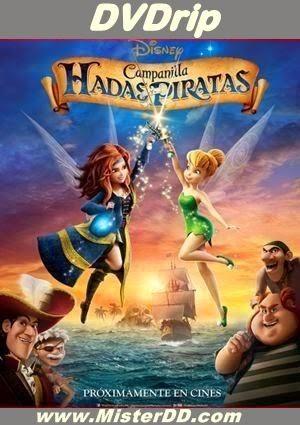 Campanilla, hadas y piratas (2014) [DVDRip]
