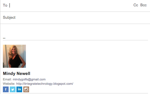 Technology Tailgate: Jazz Up Your Email Signature Line