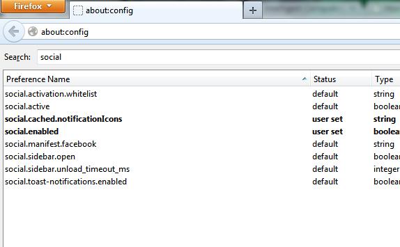 "Set Value ""true"" for Social.enable option screenshot : Intelligent Computing"