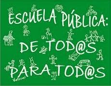 Defendemos la escuela pública