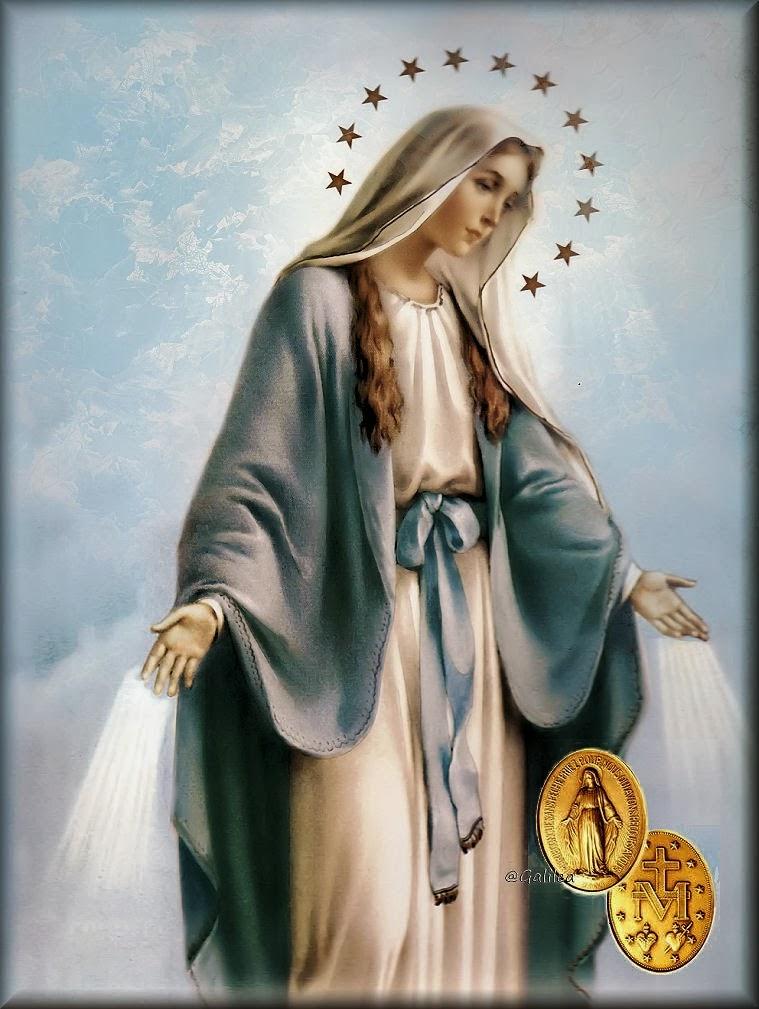 Santoral Católico ®: Nuestra Señora de la Medalla Milagrosa