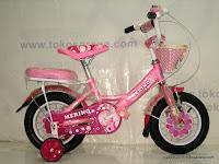 Sepeda Anak Merino 12-3393 Flower 12 Inci