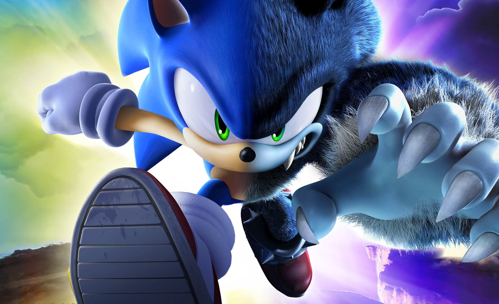 Sonic The Hedgehog Sega Game Werehog Wallpaper