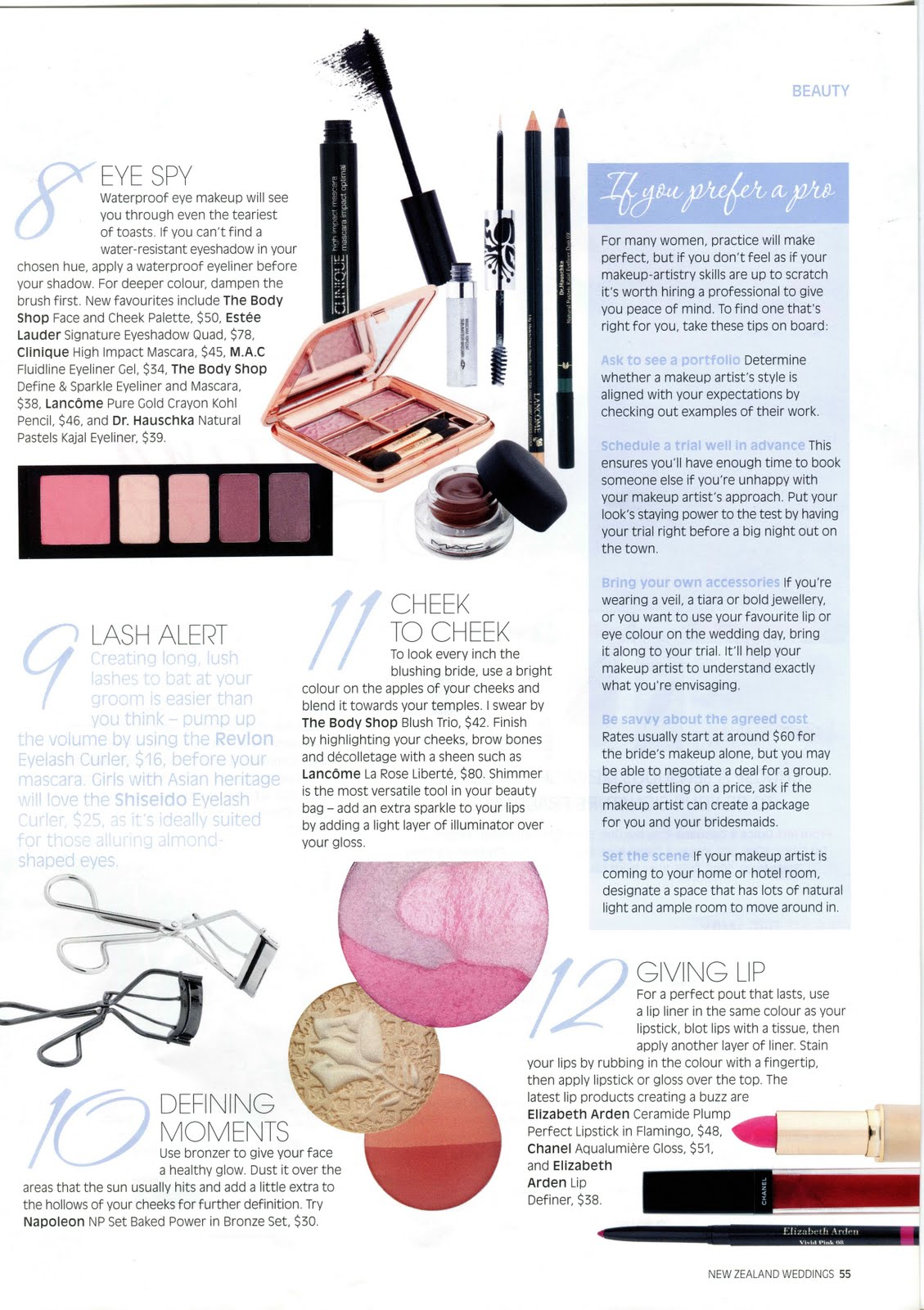 Articles for makeup