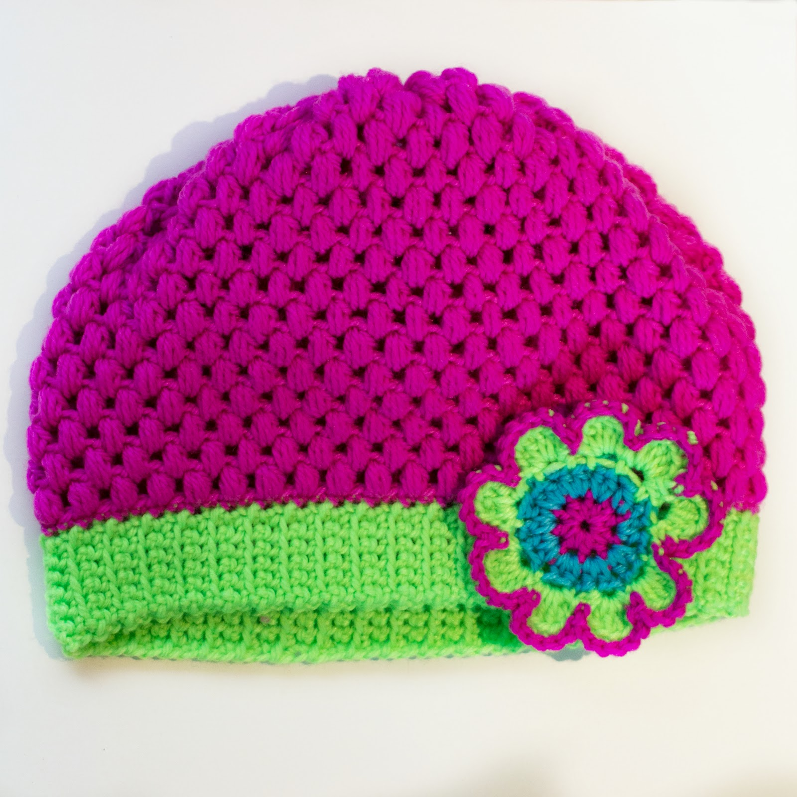 Crochet Hat Patterns Flowers : Hopeful Honey Craft, Crochet, Create: Bouquet of Flowers ...